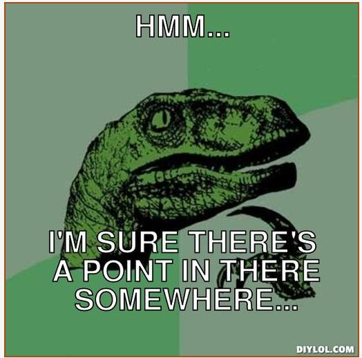 DB Sieders Philosoraptor Meme