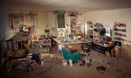 Lori Nix - The Living Room