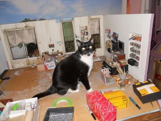 Merman in the living room.