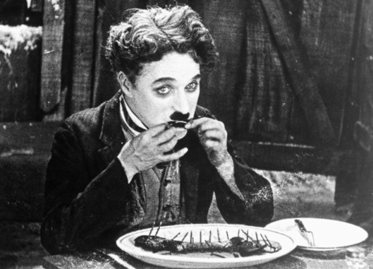 From: Wikipedia-Charlie Chaplin, The Gold Rush