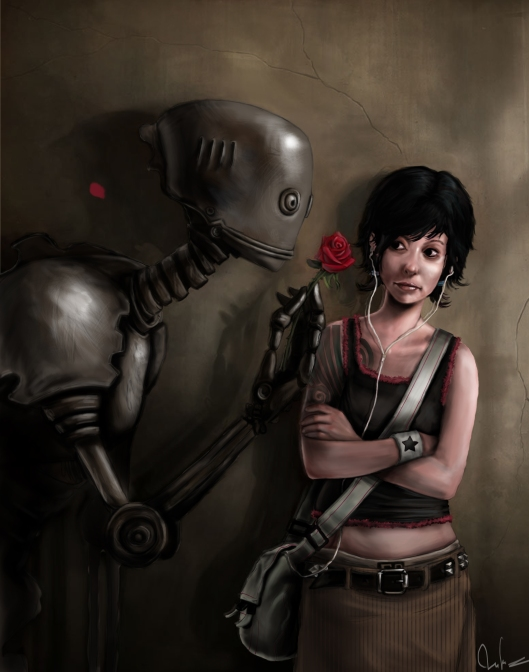 Robot in Love - Rudy Faber