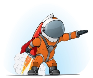 Astronaut Kiester Depositphotos_4009055_xs