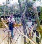 Crossing the Bulabud Tollbridge